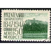 México, Castillo De Chapultepec 50c Aéreo 1947