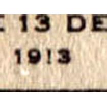 2137 Revolución Sonora Blanco (!) Por (1) 1c Usado L H 1913