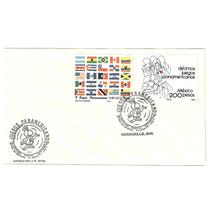 Sobrre Primer Día Juegos Panamericanos Banderas 1987