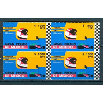 Sc 1697 Año 1991 F1 Grand Prix De Mexico