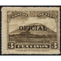 2226 Oficial Ruleteado Scott# O212 3c Mint L H 1934-37