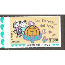 Estampilla Los Derechos Del Niño México 1991