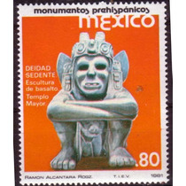 2793 México Monumentos Coloniales 4 Sellos Mint N H 1981