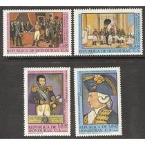 Honduras Homenaje A Bernardo Ohiginns 1978