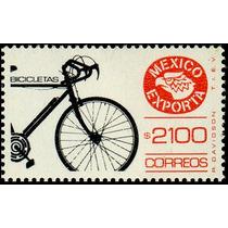 2224 Exporta Bicicletas Sin Trama 11° E $2100 Mint N H 1992