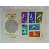 Estampillas Postales Juegos Olímpicos México 1968