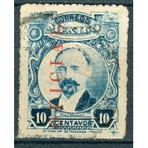 Sc O128 Año 1919 Oficial Francisco I Madero Hombres Ilustres