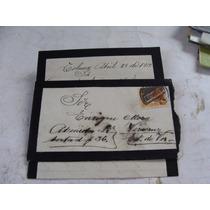 Antigua Año1912 Carta Con Sobre Y Timbre Postal
