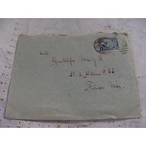 Antigua Año1928 Sobre Con Timbre Postal