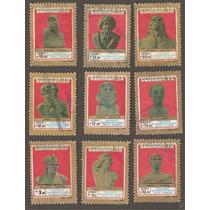 Ecuador Caciques Indoamericano Bustos Prehispanicos 1979