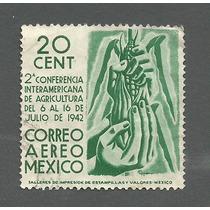 Estampilla Mexico Aerea Scott C 120