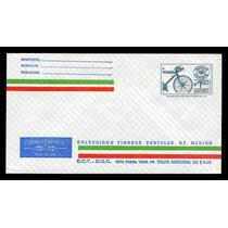0440 México Exporta Entero Postal $1.60 Bicicleta