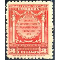 2720 México Cong Postal Pan Scott #658 2c Mint L H 1926