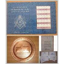 Kit Mason Masonería Evento: Supremos Consejos Del Mundo 1990