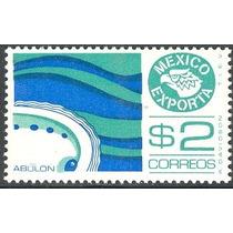 2614 Méx 2° E Abulón Papel Estrella $2 Mint N H 1980