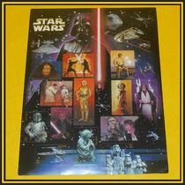 Estampillas Postales Usa Sta Wars Darth Vader