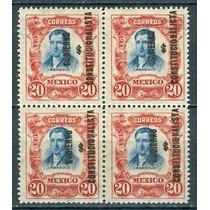 Sc 430 Año 1914 B4 Mariano Abasolo Con Gobierno Constitucion