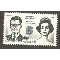 Visita De Los Reyes Belgica A Mexico Balduino Y Fabiola 1965