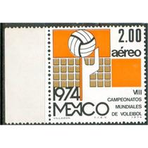 Sc C433 Año 1974 Viii Campeonatos Mundiales De Voleibol