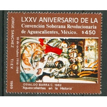 Sc 1627 Año 1989 Lxxv Aniv De La Convencion Soberana Revoluc