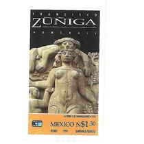 Estampilla Francisco Zuñiga 1994 Nueva