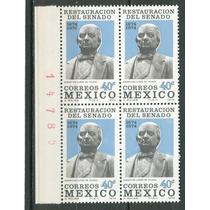 Sc 1069 Año 1974 B4 Con Folio Sebastian Lerdo De Tejada Rest