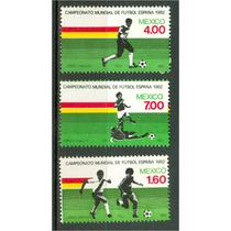 Sc 1278-1280 Año 1982 Campeonato Mundial De Futbol España