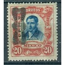 Sc 524 Año 1916 Mariano Abasolo Independencia + Moño