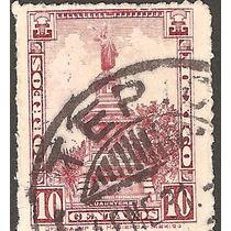 Cancelación Tepic Nayarit Monumentos 1924