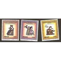 Personajes Prehispanicos 1987 Serie Nueva