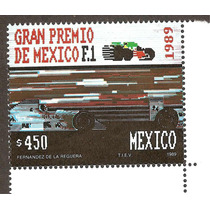 Estampilla Gran Premio Formula Uno 1989
