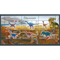 Sc () Año 2012 Malawi Dinosaurios Serie Tematica