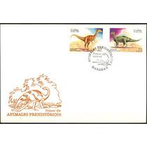 0140 Cuba Carta Primer Día Serie 2 S Dinosaurios 1999