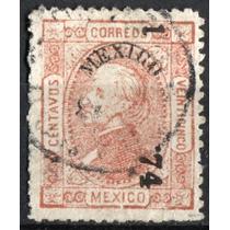 3126 Clásico Perfil S#101 México #1 74 25c Usado 1874