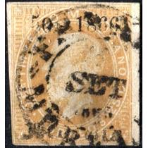 1499 Maximiliano Scott#29 Café 1°e 25c Usado Morelia#50 1866