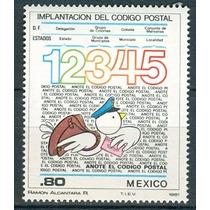 Sc 1259 Año 1981 Implantacion Del Codigo Postal