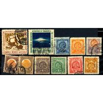 0290 México Lotecito 11 Sellos Usados N H 1899-40