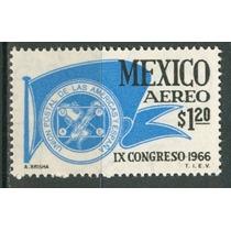 Sc C315 Año 1966 B1 Ix Congreso Inernacional De A Union Post