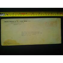 Sobre Postal De Luz Y Fuerza 1963