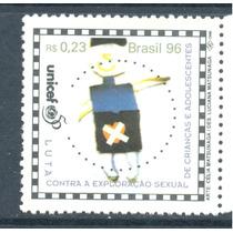 Brasil 1996 Unicef Lucha Vs Explot. Sexual De Niños