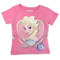 Disney Girls Pink Frozen Elsa Let It Go Singing Manga Cort