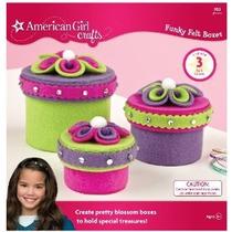 American Girl Crafts Funky Felt Kit Box