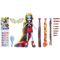 Mi Dash Little Pony Equestria Girls Rainbow Peluquería Doll