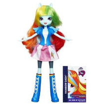 Mi Dash Little Pony Collection Rainbow Equestria Girls Doll