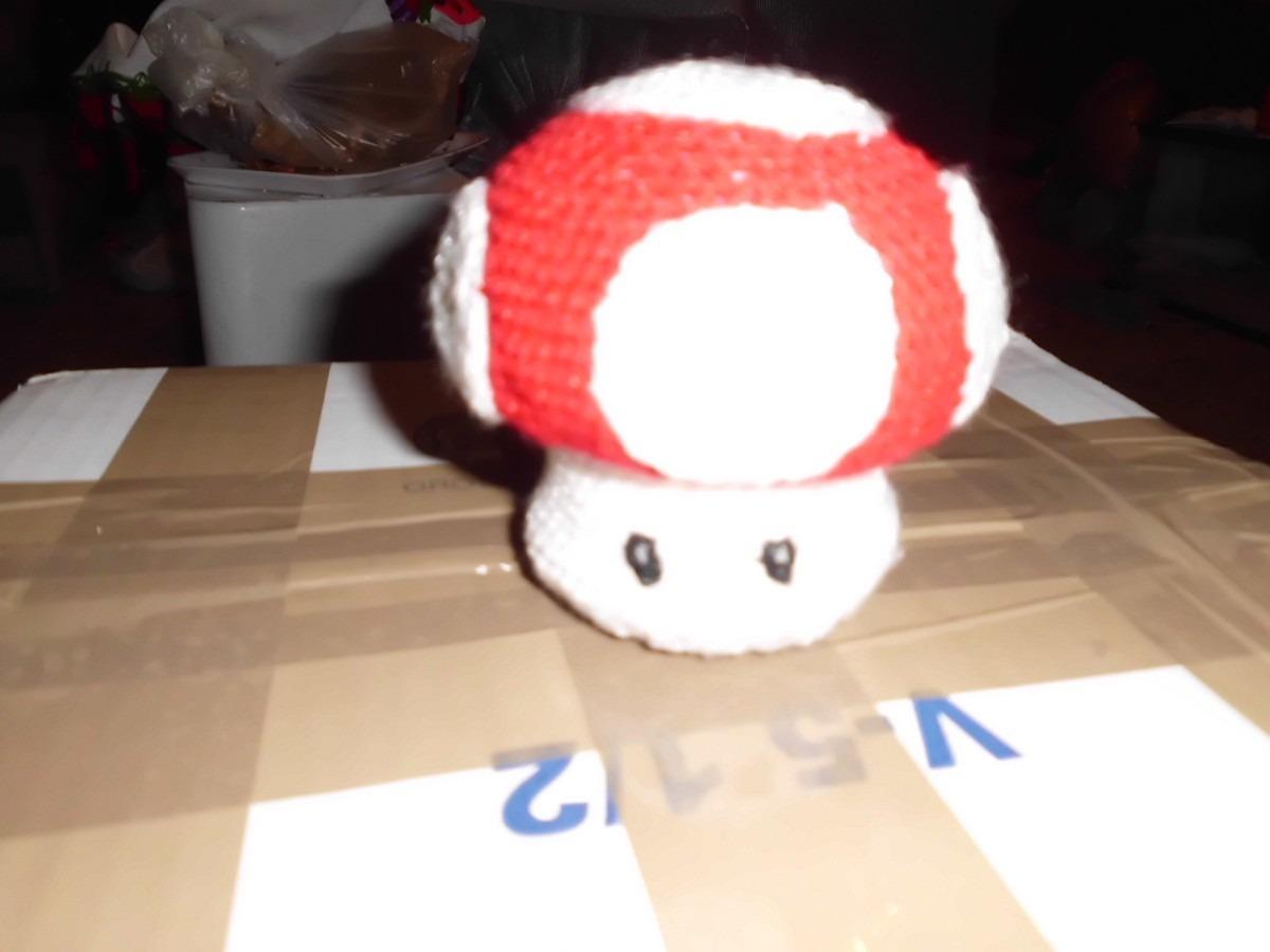 Amigurumi Hongo Mario Bros : Amigurumi Hongo Mario Bros. - USD 100.00 en MercadoLibre