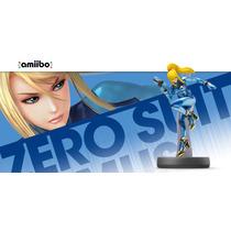 Nintendo Wii U - Amiibo Samus Zero Suit - Super Smash Bros