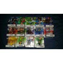 14 Amiibos Lucina, Pit, Villager, Wii Fit Trainer Y Más