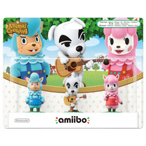 °° Amiibo Paquete Animal Crossing °° En Bnkshop