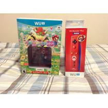 Mario Party 10 Wii U + Amiibo Mario + Control Nuevo