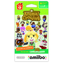 °° Tarjetas Amiibo Serie 1 Animal Crossing °° En Bnkshop